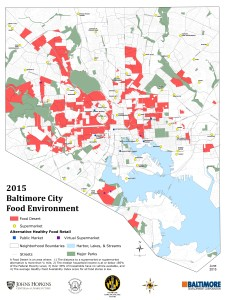 Food Environment Map Baltimore Office Of Sustainability - Us food desert map